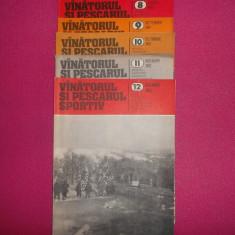 REVISTA VÂNĂTORUL ȘI PESCARUL ANUL 1982 11 reviste