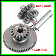 Set Pinioane Electromotor Atv 150 200 250 17/60+16/17 Dinti