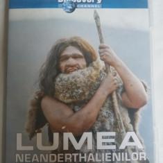 LUMEA NEANDERTHALIENILOR - DVD- DISCOVERY, Romana, discovery channel