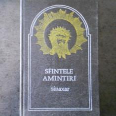 SFINTELE AMINTIRI. SINAXAR (1992, editie cartonata)