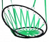 Scaun tip Leagan Suspendat pentru Terasa sau Gradina, Capacitate 100kg, Culoare Verde, Palmonix