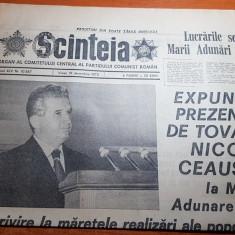 scanteia 19 decembrie 1975-expunera lui ceausescu la marea adunare nationala