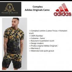 In STOC! Set Adidas Originals Camo - Original - Marimea S  -  Bumbac
