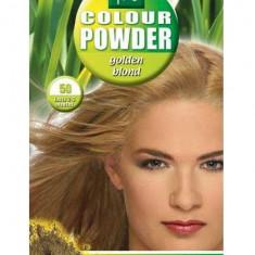 Pudra De Par Permanenta Naturala HennaPlus 50 Golden Blond
