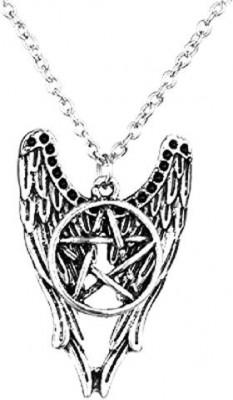 Pandantiv / Colier / Lantisor - FILM SUPERNATURAL - Pentagrama Winchester Amulet foto