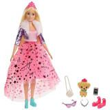 Cumpara ieftin Papusa Barbie Modern Princess Theme cu accesorii, Mattel