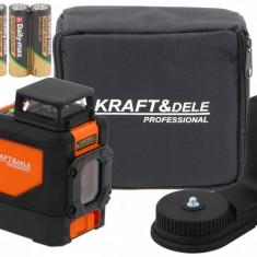 Nivela Laser VERTICAL ȘI ORIZONTAL KraftDele KD10308