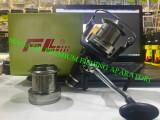 Mulineta FL Falai Tackle HQ 6000 9+1 rulmenti 2 Tamburi Metal 2021, Feeder