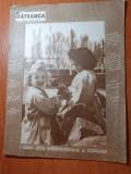 revista sateanca mai 1957-art. comuna pausesti-maglasi,cantecul opincuta mea