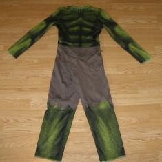 costum carnaval serbare hulk pentru copii de 6-7 ani