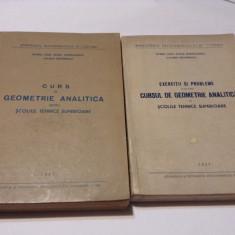 CURS DE GEOMETRIE ANALITICA +CULEGERE DE PROBLEME   O TINO--RF14/4