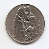 Albania ½ Lek 1931 - Zog I, Nickel, 24 mm KM-13, Europa