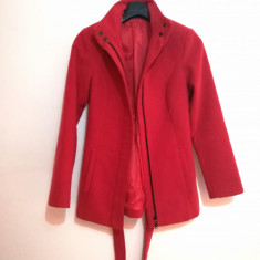 Palton dama - Santana (rosu, marimea 36)