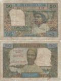 1969 , 50 francs ( UNL1 ) - Madagascar ( Comore )