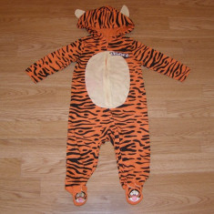 costum carnaval serbare animal tigru tigger pentru copii de 6-9 luni