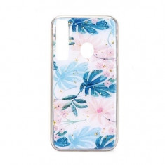 Husa Huawei Y7 2019Y7 Prime 2019 iberry Marble Glitter Almond, Carcasa