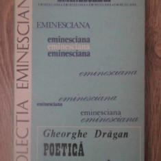 POETICA EMINESCIANA - GH. DRAGAN