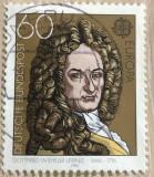 Germania Gottfried Wilhelm Leibniz (1646-1716), Oameni, Stampilat