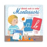 Literele mele in relief Montessori, Editura DPH