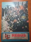 revista rebus decembrie 1987- numar dublu