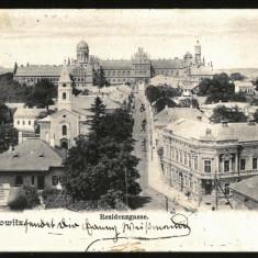 Carte Postala Veche Circulata 1904 BUKOWINA Bucovina Cernauti Czernowitz, Fotografie