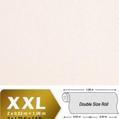 Tapet alb model unicolor cu finisaj stralucitor 937-20