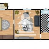 Apartament 2 camere, Cantemir,65000 EUR, Etajul 4