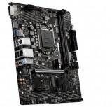 Placa de baza MSI H410M-A PRO, Intel H410, LGA 1200, mATX