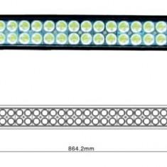 LED Bar Auto Offroad 180W/12V-24V, 13.200 Lumeni, 31,5″/80 cm, Combo Beam 12/60 Grade