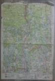 Ramnicu Valcea// harta lito 1929, M. D. Moldoveanu