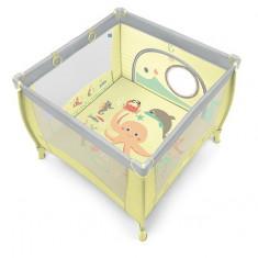 Baby Design Play UP Tarc pliabil 04 Light Green 2019 cu inele ajutatoare