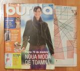 Revista Burda Nr. 10 din 2001. In limba romana. Contine tipare