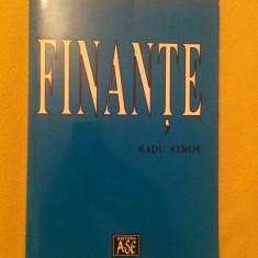 Finante - Radu Stroe