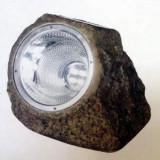 Lampa solara piatra
