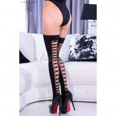 Black Stockings CR 4316 - S/M