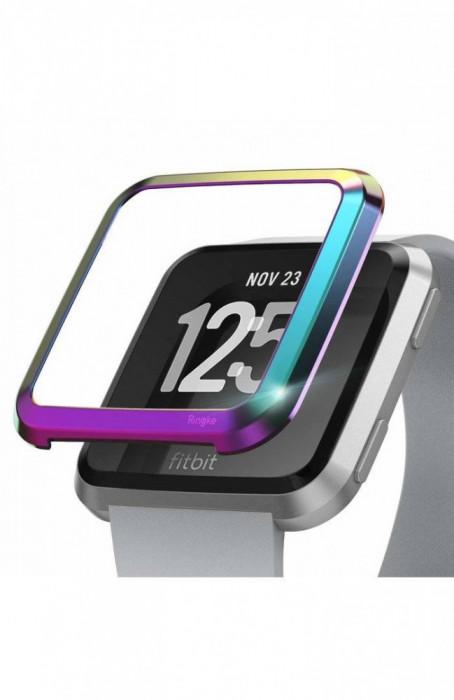 Rama ornamentala otel inoxidabil Ringke Neon pentru Fitbit Versa
