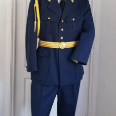 Aviație Radiolocatie uniforma completa tinuta militara anii 90