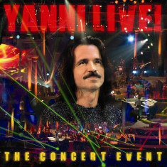 YANNI The Concert Event digipack (cd)