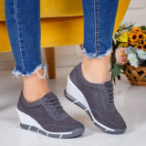 Pantofi Piele Capucius gri -rl