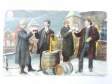 Carte postala-1911-circulata-Felicitare