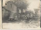 Fotografie militari romani Altana Sibiu 1922 poza veche