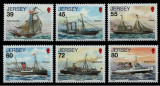 Anglia - Jersey, 2010, nave, vase, corabii, Nestampilat