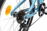Bicicleta copii Dhs 2023 albastru deschis 20 inch