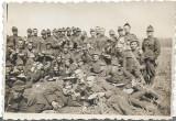 Fotografie elevi militari romani 1935 Valea Teleajenului