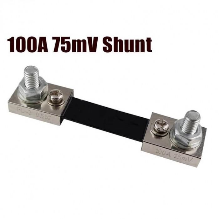 Shunt ( sunt ) pentru ampermetru, 100A, 75mV, model FL-2