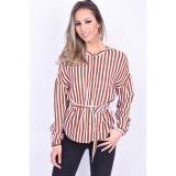 Camasa Vascoza Vero Moda Zilia Henna Visiniu, L, M, S, XL, XS