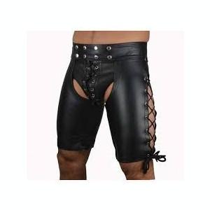 Sexy Chilot Chiloti Underwear Barbati Suspensor Jockstrap Cockring Piele PU Open