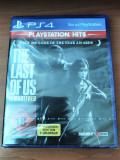 The Last of Us Remastered, PS4, original și sigilat, alte sute de jocuri