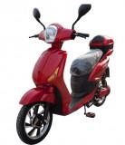 Bicicleta electrica, tip scuter, fara carnet si inmatriculare ZT-09-C CLASSIC ROSU