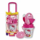 Troler cu jucarii de nisip Hello Kitty - Androni Giocattoli